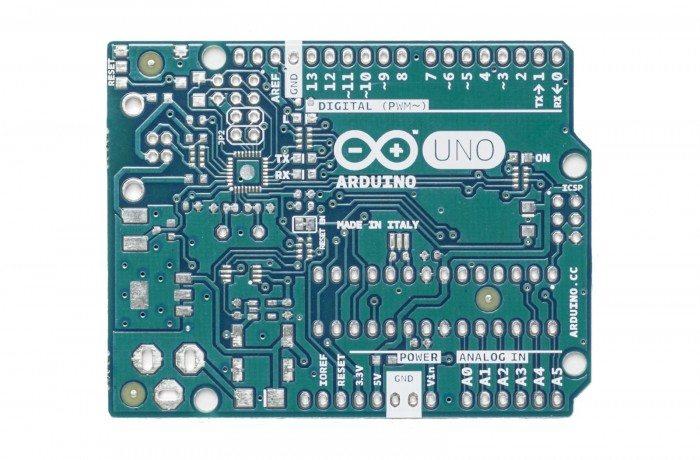 Arduino Uno - nowy wygląd przód