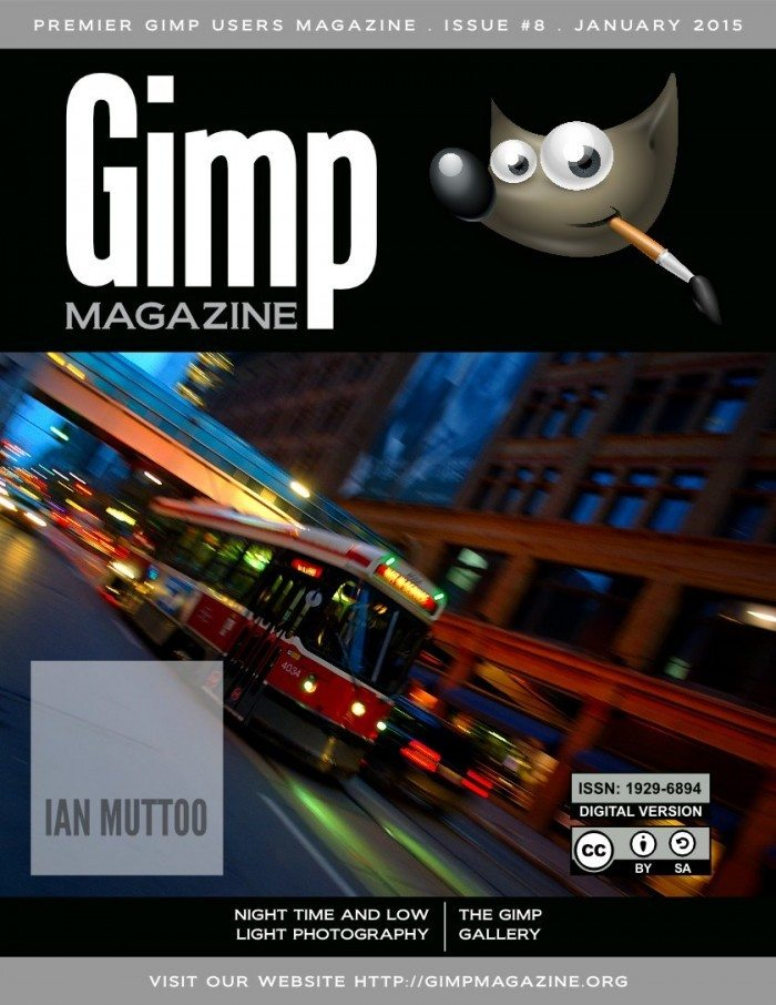 GIMP Magazine Issue 8 - okładka