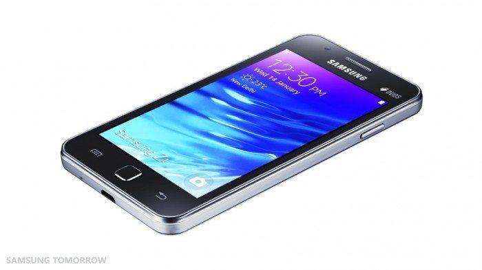 Samsung Z1 - czarna wersja
