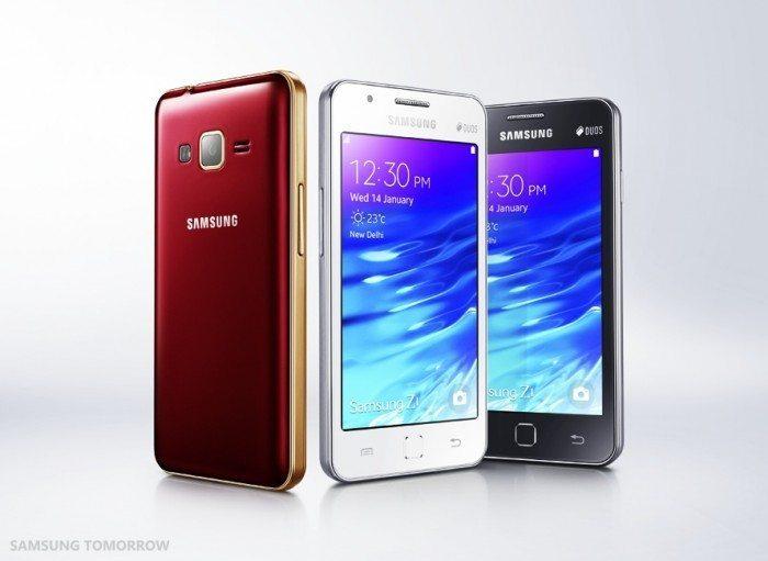 Samsung Z1 - wygląd