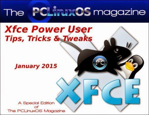 The PCLinuxOS Magazine - Xfce Special Edition - styczeń 2015 - okładka