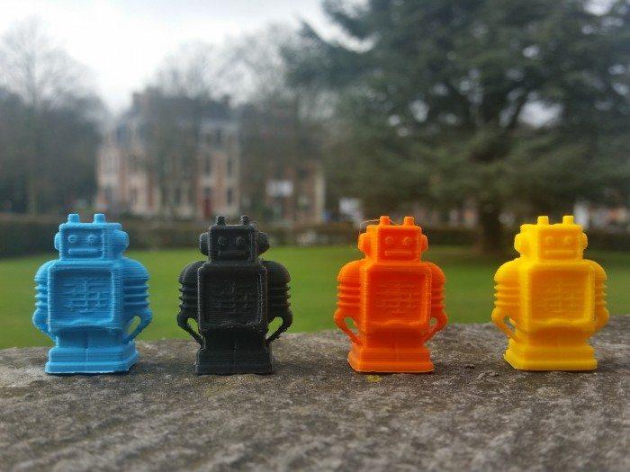 Roboty z drukarki 3D