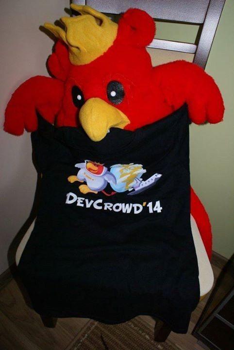 DevCrowd 2015 - koszulka