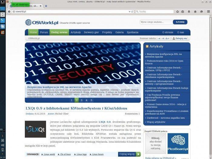 Manjaro 0.8.12 - Firefox