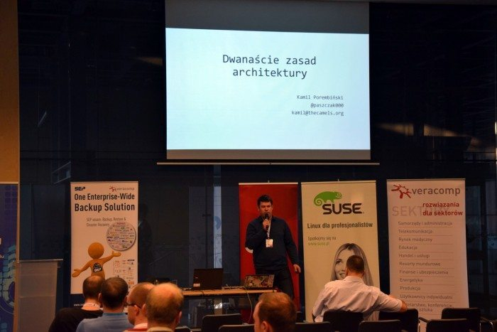 Open Source Summit 2015 - prezentacja Kamila
