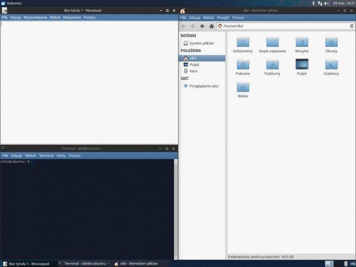 Xfce 4.12 - przyleganie okien