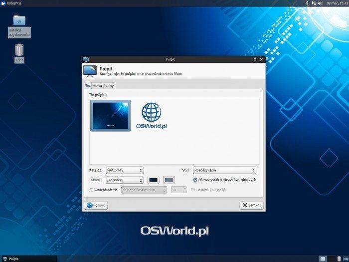 Xfce 4.12 - pulpit