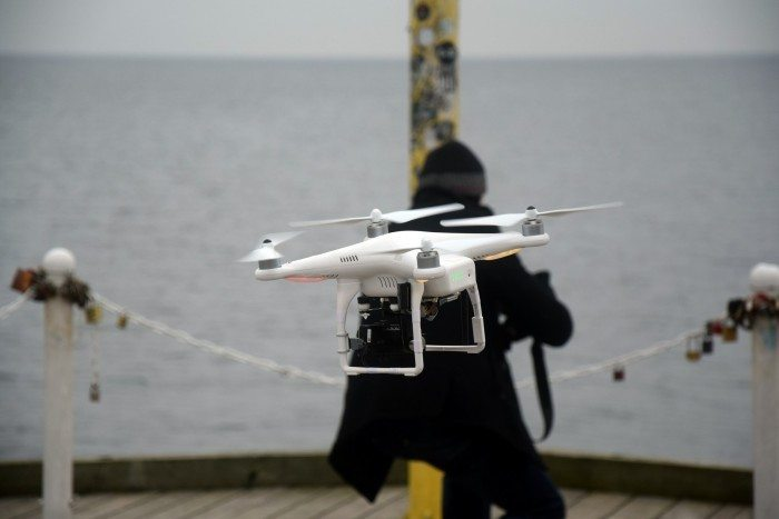 Zimowisko Linuksowe 2015 - Dron