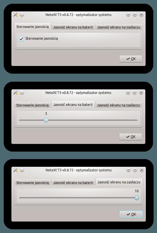 APM 5.0 - podświetlenie matrycy
