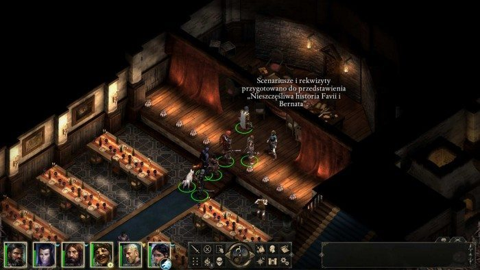Pillars of Eternity - Teatr