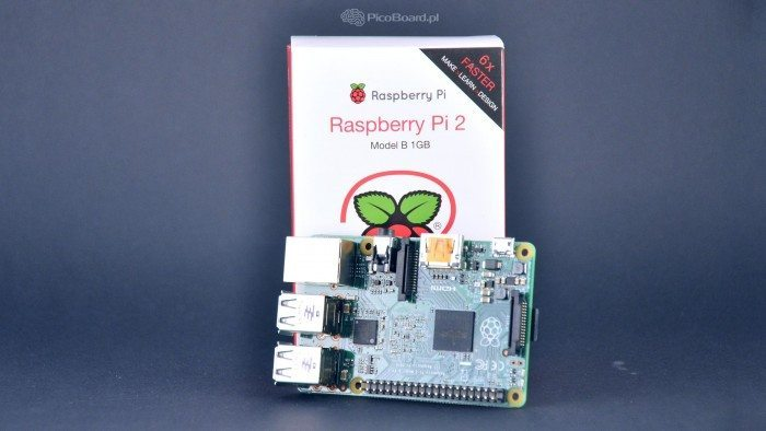 Raspberry Pi 2 Model B - slider