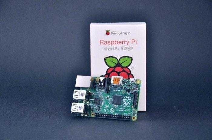 Raspberry Pi Model B+ - pudełko