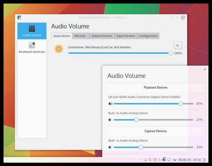 KDE Plasma 5.4