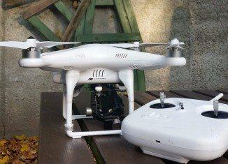Drony, sprzęt