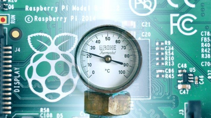 Raspberry Pi, sprzęt, temperatura