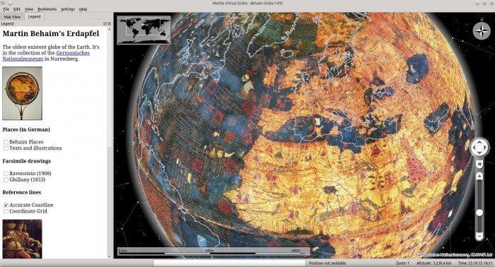 Marble - Behaim Globe