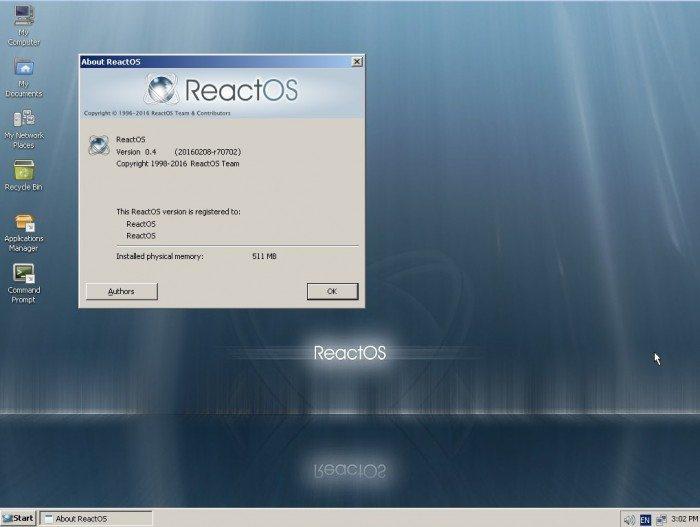 ReactOS 0.4.0