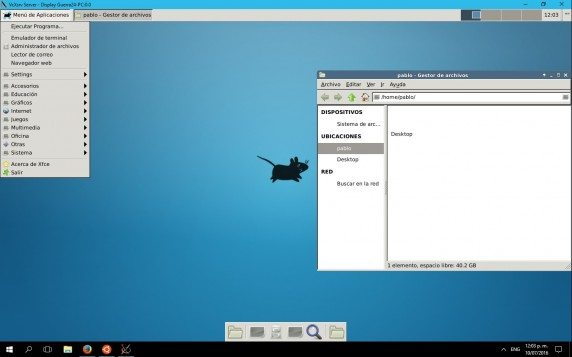 Xfce na Windows 10