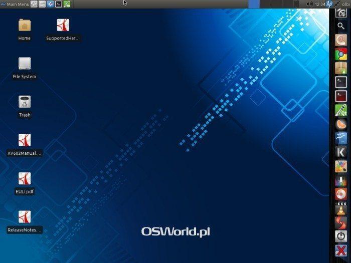 AV Linux 6.0.2 - pulpit