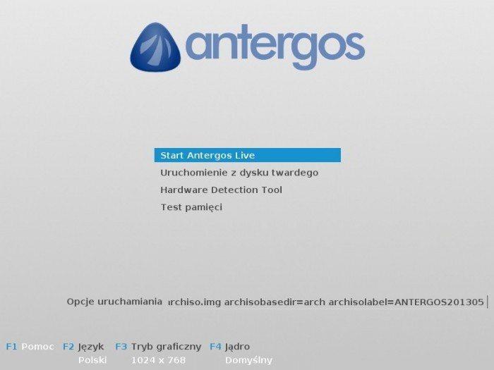Antergos 2013.05.12 - Live system