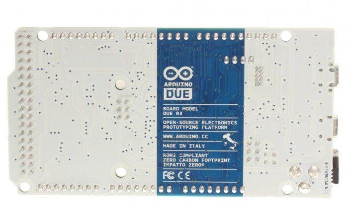 Arduino Due - tył