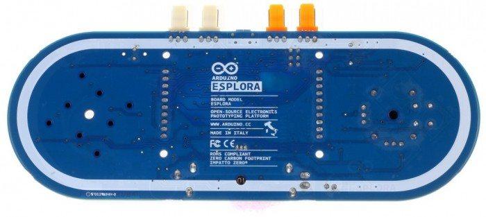 Arduino Esplora - tył