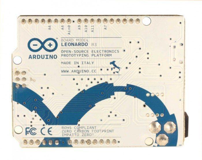 ArduinoLeonardo - tył