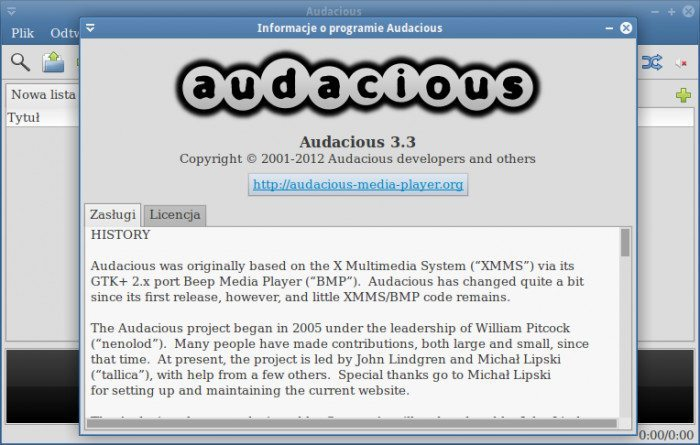 Audacious 3.3