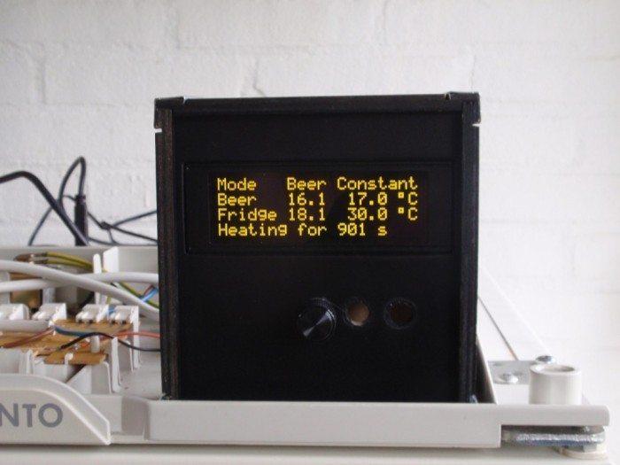 BrewPi - wyświetlacz OLED