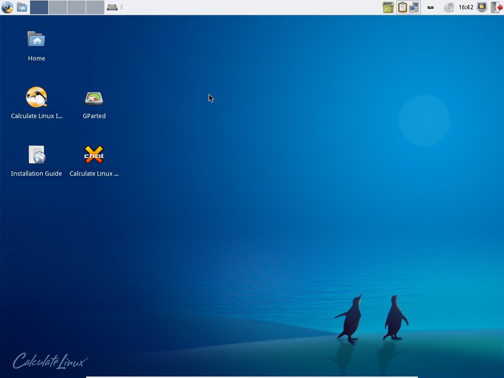 Calculate Linux 11.12