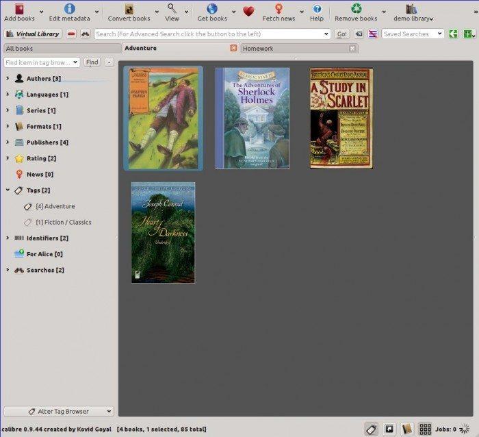Calibre 1.0 - Wirtualne Biblioteki
