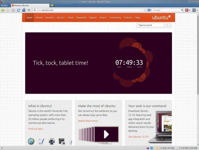 Canonical - Ubuntu Tablet - odliczanie