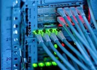 Centrum Informatyczne Świerk - okablowanie sieciowe