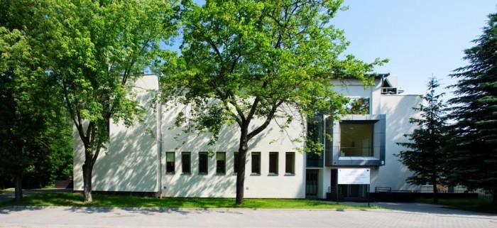 Centrum Informatyczne Świerk - przód budynku