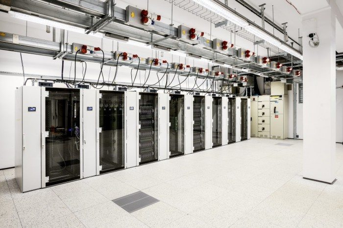 Centrum Informatyczne Świerk - szafy 1