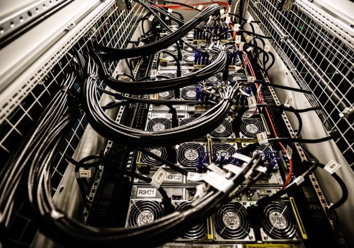 Centrum Informatyczne Świerk - zasilanie szafy