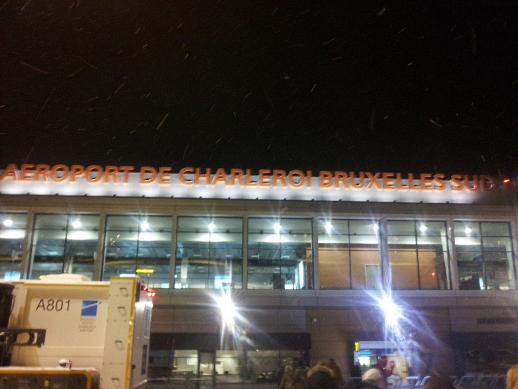 Termina na lotnisku w Charleroi