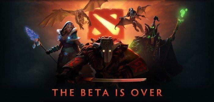 DOTA 2 - The beta is over