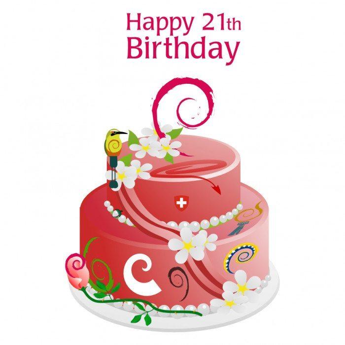 Debian - 21 urodziny