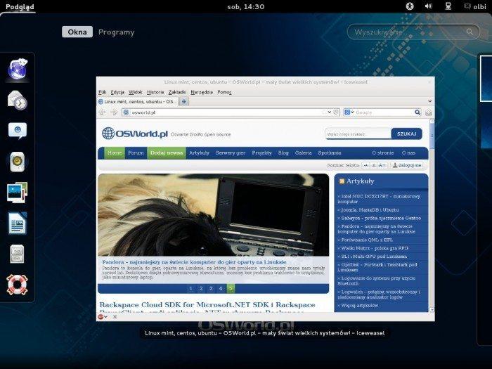 Debian 7.0 GNOME 3.4 - Gnome Shell