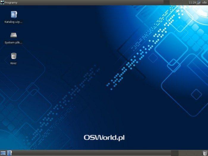 Debian 7.0 Xfce 4.8 - pulpit