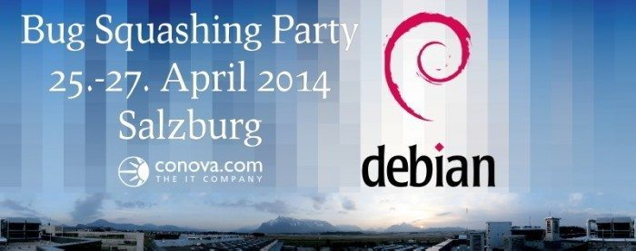 Debian Bug Squashing Party 2014 w Salzburg