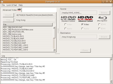 Blu-Ray oraz HD DVD Video