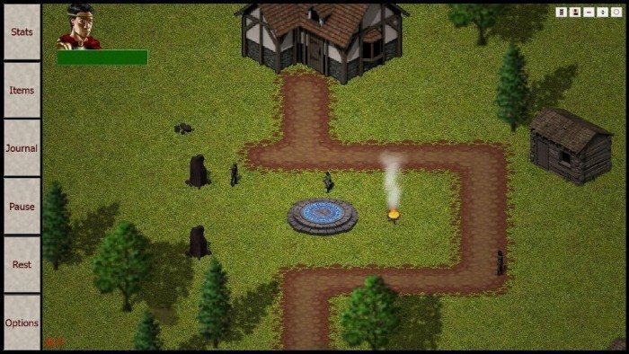 Erebus 0.8 - wioska