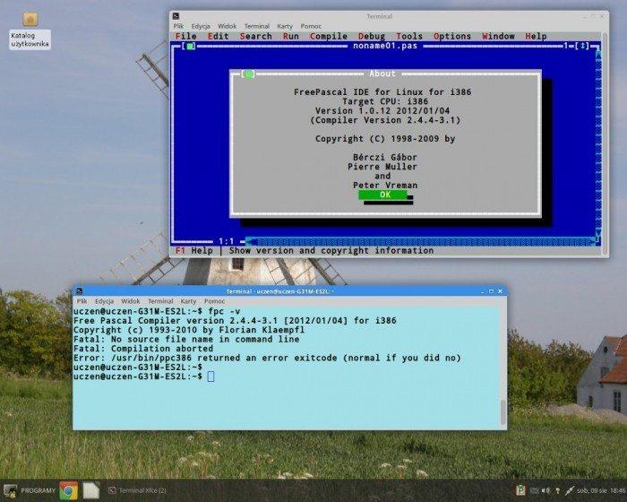 FREE_Desktop 12 - środowisko programistyczne Free Pascal