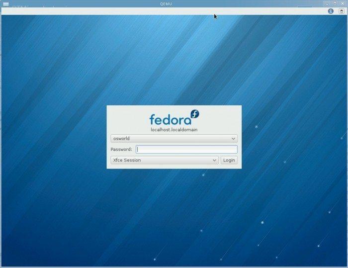 Fedora 18 ARM - logowanie