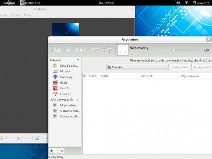 Fedora 19 - aplikacje