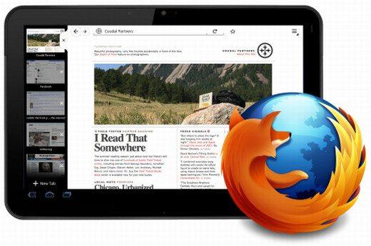 Firefox dla tabletów - HoneyComb