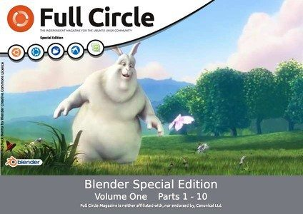 Full Circle Magazine - Blender Special Edition 1 - okładka