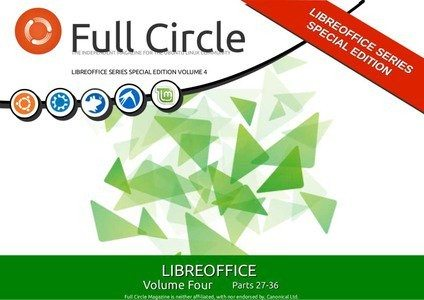 Full Circle Magazine - LibreOffice Special Edition 4 - okładka